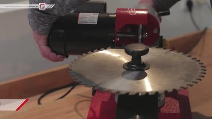 Заточваща машина за циркулярни триони Mty 80-700 www.holzmannbg.com Holzmann