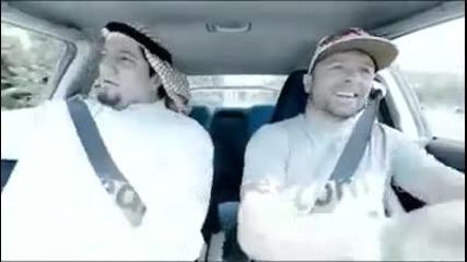 Смях,арабин в дрифт кола