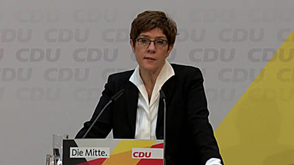 Germany: Outgoing chairwoman says CDU to pick new leader on April 25