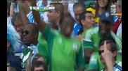Нигерия 2:3 Аржентина (бг аудио) Мондиал 2014