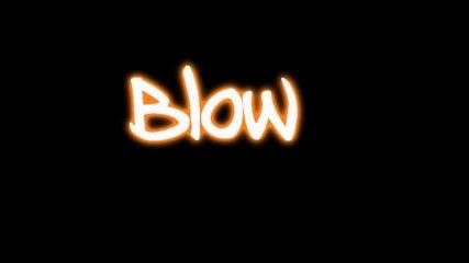 Kesha - Blow Lyrics on Screen+текст
