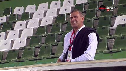 Акрапович претърпя инцидент на трибуните