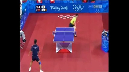 Тенис на маса - Топ разигравания