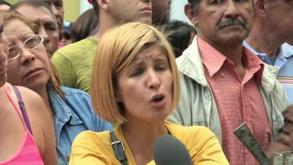 Venezuela: Mourners gather to pay respects to slain journalist Ricardo Duran