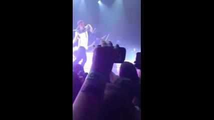 Джъстин изненада Коди на сцената 14.06.2013