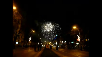 New Years Fireworks on Varna 2011