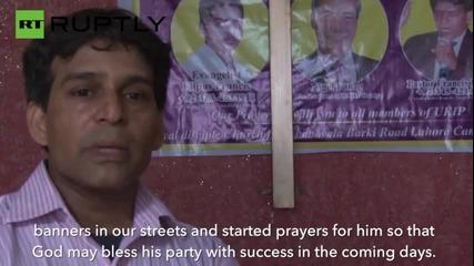 These Pakistani Christians Worship Nigel Farage's UKIP