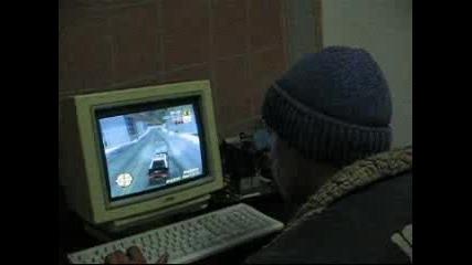 Лазарин играе GTA3