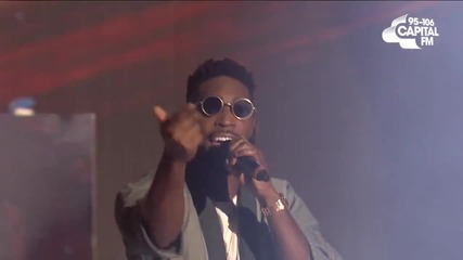 Tinie Tempah ft Katy B - Turn The Music Louder ( Live At The Jingle Bell Ball 2015 )