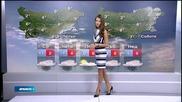 Прогноза за времето (10.12.2014 - обедна)