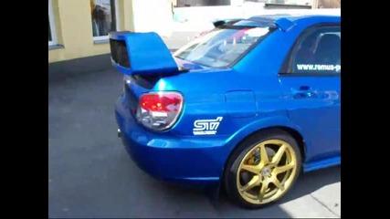 Subaru Impreza Wrx Sti Prodrive 525 exhaust