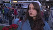 Austria: Hundreds hold torch lit march against arms trade in Vienna