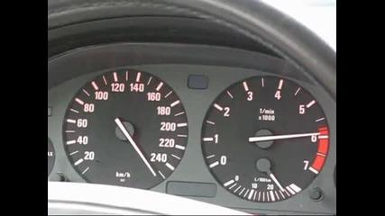 Bmw 540i E39 Acceleration 0-250 km/h