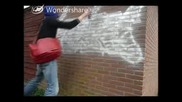 рисуване на графити Graffiti Sker live action.