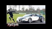 nike - Кристиано Роналдо Надбягва Най-Бързата Кола В Света