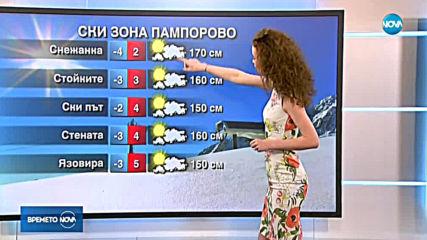 Прогноза за времето (16.02.2019 - централна емисия)