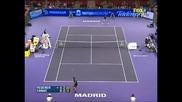 Federer Vs Canas - Madrid 2007