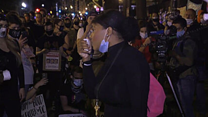 USA: Protest erupts in DC after jury refuses to charge officers in Breonna Taylor case