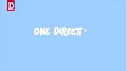 Видео с текст!! One Direction - Kiss You