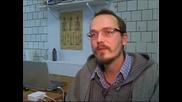Литовски фотограф направи фотопортрет на своя приятел, поразително приличащ на Ван Гог