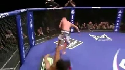 Anthony Pettis Kick On Ben Henderson. Amazing