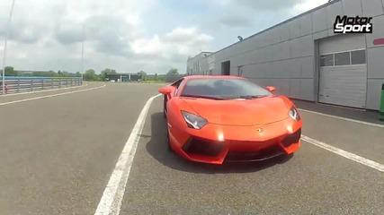 Lamborghini Aventador LP700-4 - ускорение 0-285км/ч