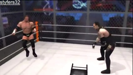 |simulator|wrestlemania 28|undertaker Vs Triple H|hell in a Cell|