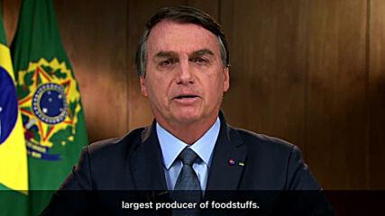 UN: Bolsonaro attacks media for 'politicising the virus' at UN general assembly opening