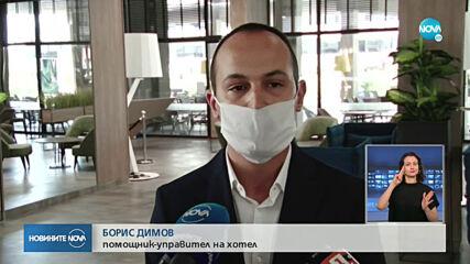 СТАРТ НА СЕЗОНА: Първите туристи кацнаха на летище Бургас