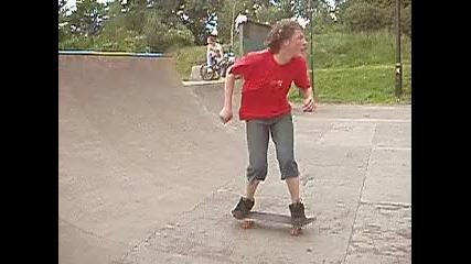 Скейт Трик - Dropping In (1)