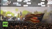 Хиляди на митинг за независимостта на Каталуния