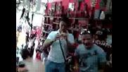 Индианси концерт в магазин Tagua - Бургас