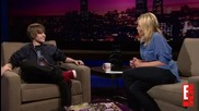 [new!+ превод] Justin Bieber Interview in Chelsea Lately Show
