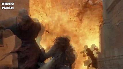 Игра на тронове - Дани изгаря Кралски чертог - Металика
