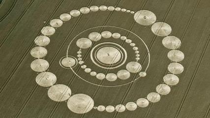 Нло, Житни Кръгове (crop circles, Ufo)