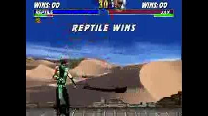Mortal Kombat - Reptile 100%