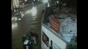 Побой в центъра на София заснет от  камерите за наблюдение - Акция 18.02.2008