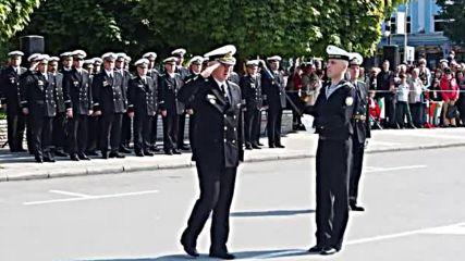 Водосвет и благославяне на бойните знамена във Варна