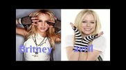 Avril Lavigne Singing Gimme More By Britney Spears