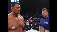 Разбиване - Батиста срещу Краля Букър - Мач за титлата на тежка категория.