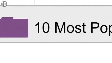 10 най-популярните сайтове