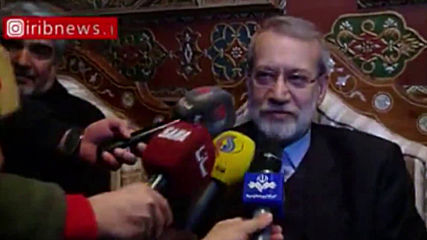 Syria: Iran's Parliament Speaker Larijani calls Syria 'one of the most important resistant axes'