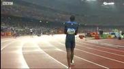 Супер сензация в спринта на 400м на Олимпиадата в Пекин - Lashawn Merrit със златото