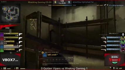 ESL Национален Шампионат CS-GO PD6 Golden Vipers vs Wreking Gaming de_mirage