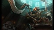 Jurassic Cho'gath League of Legends Skin Spotlight
