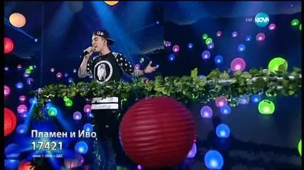 Иво и Пламен - песен на български език - X Factor Live (02.02.2015)