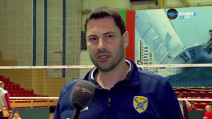 Атанас Петров: Хебър не бе надигран, просто игра слабо