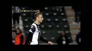 Супер-пасове за гол от Бербатов в Лига Европа