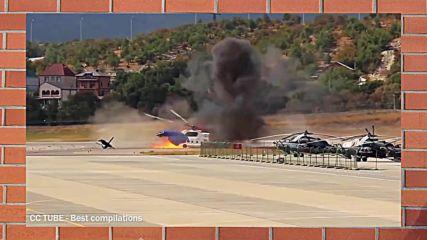 Разбий се! Зрелищни катастрофи с хеликоптери!