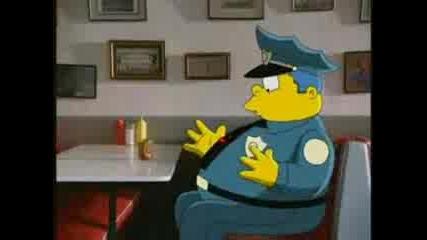 Извънземно Прави Хората В Герои От Simpson